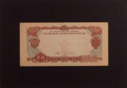 Vietnam Viet Nam 20 Xu VF Banknotes 1963 - Pick#R2 / 02 Images - Vietnam