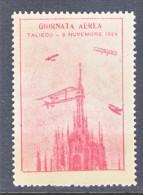 ITALY   VIGNETTE  AEROPHILATELIC  TALIEDO  AIR  SHOW  1929  * - 1900-44 Vittorio Emanuele III