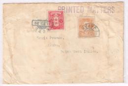 Japan Cover Scott #131 128 11.12.31 Kobe C. 1919 To  Louis Posner Aruba Dutch Wesr Indies AV - Storia Postale