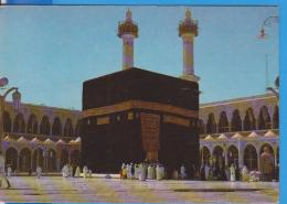 SAUDI ARABIA MECCA MOSQUE HOLY KAABA POSTCARD UNUSED - Arabia Saudita