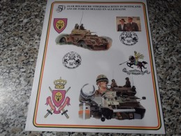50 Ans Des Forces Belges En Allemagne - Militaria