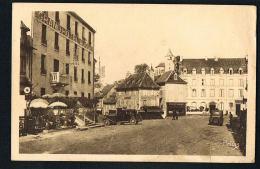 LAGUIOLE  -Aveyron-  Le Centre Du Pays - Cpsm - Voyagée 1936 - Laguiole