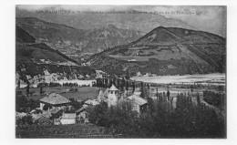 SAINT GEORGES DE COMMIERS EN 1917 - N° 545 - LE DRAC ET LE PONT DE LA RIVOIRE - CPA VOYAGEE - France