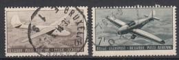 BELGIË - OBP -  1951 - PA 28/29 - Gest/Obl/Us - Luftpost