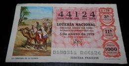 BILLETS DE  LOTERIE DE SPAIN - Billets De Loterie
