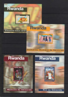 Rwanda - BL111/114 (Bloc 111/114) - Génocide - 1999 - MNH - Rwanda
