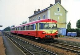 AL 415 - Autorail Caravelle En Gare - ARNAGE - 72 - SNCF - Stations With Trains