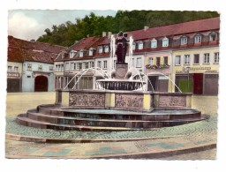 6650 HOMBURG, Am Brunnen, 195.., Brfm. Entfernt, Kl. Klebereste - Saarpfalz-Kreis