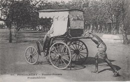 PONDICHERY - POUSSE POUSSE PONDICHERIEN - Postcards