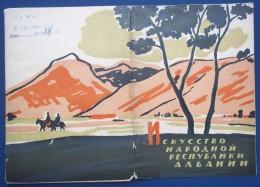 Fine Art Of Albania. Set Of 1959. 12 PC - Malerei & Gemälde