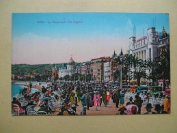La Promenade Des Anglais. - Plazas