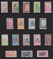 FRENCH SOMALIS 1915 PICTORIAL CPL.SET OF 17 FULL OG ** - SUPERB FRESH ! - Nuovi