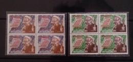 Blocks 04 Of South Vietnam Viet Nam MNH Stamps 1970 - Scott#380-381 : Nguyen Dinh Chieu - Vietnam