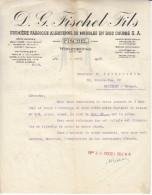 D G Fischel Fils-fabrique Alsacienne De Meubles-wissembourg 6 Avril 1926 - France