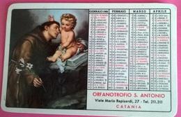 CALENDARIETTO 1966 ORFANOTROFIO S.ANTONIO CATANIA - Calendari