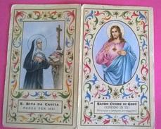 CALENDARIETTO 1960 PARR.S.CUORE BOLOGNA S.TA RITA S.CUORE GESU' - Calendari