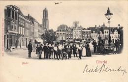 Utrecht - Neude Met Veel Volk! - Utrecht