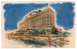 Egypte--LE CAIRE--Nile Hilton--illustrateur  ??  Format 14 X 9 --carte Moderne - Le Caire