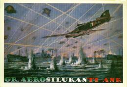 GR. Aerosiluranti ANR Savoia Marchetti S79 S 79 Cap. Carlo Faggioni Ad Anzio - 1946-....: Moderne