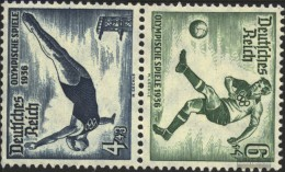 German Empire SK27 With Hinge 1936 Olympics - Germany