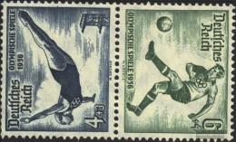 German Empire SK27 With Hinge 1936 Olympics - Nuovi