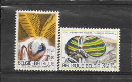 België 1971 Y&T Nr° 1610,1611 (**) - Belgium