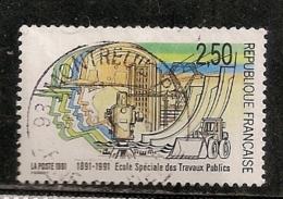 FRANCE N° 2726 OBLITERE - Oblitérés