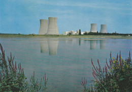 CPM  De  DAMPIERRE En BURLY  (45)  -  La  Centrale  Nucléaire   // TBE - France