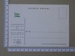 PORTUGAL    - COMPANHIA COLONIAL DE NAVEGAÇÃO     - (Nº15455) - Lisboa