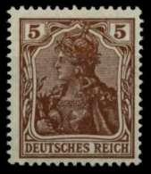 D-REICH INFLA Nr 140b Postfrisch Gepr. X71B3E6 - Germany