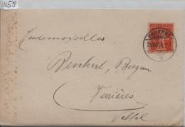 1923 Tellknabe 152 - Carte Postale - Fabrique De Brosserie, Triengen - Cachet Payerne - Ganzsachen