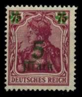 D-REICH INFLA Nr 156II Postfrisch Gepr. X71DE62 - Germany
