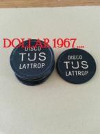 Disco Tijs Lattrop  Consumptiemunten  (  Plastiek Jeton / For Grade And Details, Please See Photo ) ! - Netherland