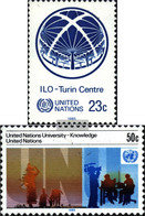 UN - New York 466,467 (complete Issue) Unmounted Mint / Never Hinged 1985 Special Stamps - New York – UN Headquarters