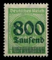 D-REICH INFLA Nr 308Ab Postfrisch Gepr. X72481E - Germany