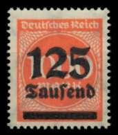 D-REICH INFLA Nr 291b Postfrisch Gepr. X72483E - Germany