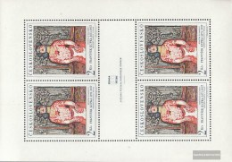 Czechoslovakia 1796Klb Sheetlet (complete Issue) Unmounted Mint / Never Hinged 1968 New Prague - Unused Stamps