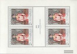 Czechoslovakia 1796Klb Sheetlet (complete Issue) Unmounted Mint / Never Hinged 1968 New Prague - Tschechoslowakei/CSSR