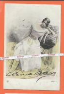 CLEO DE MERODE -  CPA Avec Autographe D'une Des Plus Grande Danseuse Du XIX Me Se - Entertainers