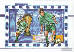 Libya Block148 (complete Issue) Unmounted Mint / Never Hinged 1998 Football-WM In France - Libye