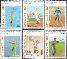 Benin 764-769 (complete Issue) Unmounted Mint / Never Hinged 1996 Olympics Summer '96 - Benin - Dahomey (1960-...)