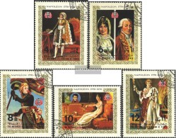 Yemen (UK) 1153A-1157A (complete Issue) Fine Used / Cancelled 1970 Napoleon - Yemen