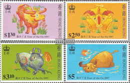 Hong Kong 785C-788C (complete Issue) Unmounted Mint / Never Hinged 1997 Chinese Year: Ox - Unclassified