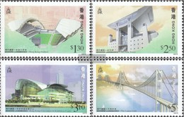 Hong Kong 815A-818A (complete Issue) Unmounted Mint / Never Hinged 1997 Lantau-Bridge - Unclassified