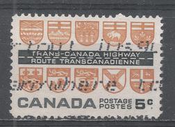 Canada 1962, Scott #400 Arms Of The Provinces (U) - 1952-.... Règne D'Elizabeth II