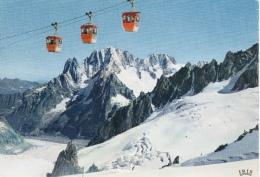 Chamonix Téléphérique De L'Aiguille Du Midi Traversée De La Vallée Blanche - Chamonix-Mont-Blanc