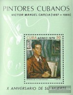 Cuba Block60 (complete.issue.) Fine Used / Cancelled  1979 Paintings Of V. Manuel - Blocks & Sheetlets
