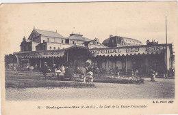 62 - Boulogne-sur-Mer - Le Café De La Digue-Promenade (animée, Imperial Old Port, âne) - Boulogne Sur Mer