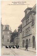 DEPT 70 : Vesoul , Rue Du Lycée Et Hotel Boisselet - Vesoul