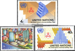 UN - New York 637-639 (complete Issue) Unmounted Mint / Never Hinged 1992 UN-Building - New York – UN Headquarters